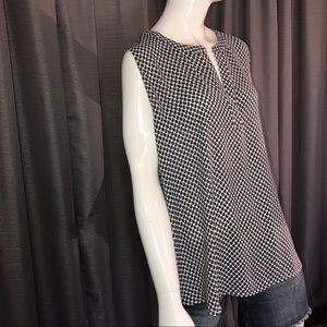 XL ANN TAYLOR LOFT SLEEVELESS BLOUSE